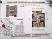 Nhà đẹp, giá tốt cho CH tại toà CT12a Kim Văn Kim Lũ, CH 53.5m2, 2PN, 2WC,chỉ 900 triệu, sđcc.