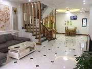 VIP  Nhà đẹp Nguyễn Văn Huyên, ô tô đỗ cửa, trước cửa nhà, ô tô tránh, nhà 5 tầng xách balo ở luôn