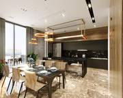Nhà được thiết kế sang trọng hiện đại, đúc kiên cố 1 trệt 1 lầu nằm ngay trung tâm thị xã Tân Uyên