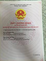 Chính chủ Bán đất: Ngõ 47 đường Yên Hoà, tổ 14 Yên Nghĩa, Hà Đông, HN.