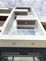 Nhà phố hiện đại 2 lầu, ST mặt tiền HXH 502 Huỳnh Tấn Phát, P. BT, Q7