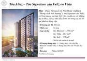 Bán  Chuyển nhượng căn Duplex 3PN - Block Altaz tại dự án Feliz en Vista Q2