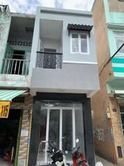 Bán nhà mới 1 lầu, mặt tiền Minh Phụng, F2, Q11. DT: 2,8 x8m. Giá: 4,5 Tỷ