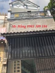 Bán nhà 3.5 x 12 phường Hiệp Thành, quận 12