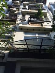 Bán nhà hoàng cầu, dt 110m, 5,5 tầng, mt 7,6m, nhà mới, Thiết kế tầng 1: gara   1 wc, Tầng 2: phòng
