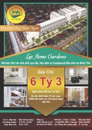 3 Căn nhà mặt tiền An Dương Vương, 6 tỷ, Ngã tu An Duong Vương , Võ Văn Kiệt