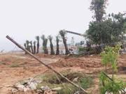 Cần bán 70m2 đất mặt tiền Kcn Nam Tân Uyên giá 950 triệu