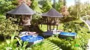 Chỉ từ 2.7 tỷ sở hữu ngay biệt thự nhà nón 150m2 - Sakana Resort Hồ Dụ Hoà Bình