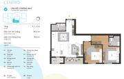 Bán căn hộ ở Kosmo Tây Hồ 78m2