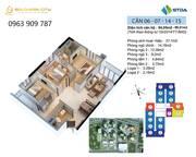 Cần bán căn góc  chung cư 3PN, 93m2 view hồ điều hòa   quảng trường siêu đẹp