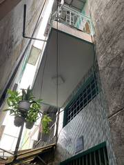 Bán nhà mới 1 lầu, 592/5D Lạc Long Quân, F5, Q11. DT:2x5m. Giá: 1,35 Tỷ