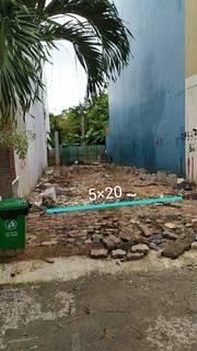Bán nhanh lô đất đường 44 Trần Văn Chẩm, ngay chợ Việt Kiều