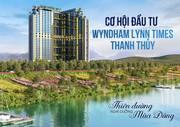 Căn hộ nghỉ dưỡng 5  suối khoáng nóng Wyndham Thanh Thủy,chỉ từ 800 triệu/căn với 18 đợt thanh toán