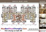 Bán căn góc 96,5m2, 3PN đủ nội thất tòa CT2 tại KĐT Văn Khê giá 1.45 tỷ.