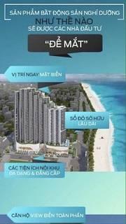 Bán Căn hộ số 09, block B view biển, tầng 19 cao và thoáng,Dự án Scenia Bay Biển Nha Trang