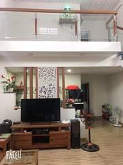 Bán nhà gác lửng đúc tự làm ở kiên cố ,thiết kế đẹp K610 Tôn Đản oto