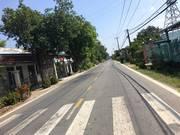 Cần bán đất mặt tiền đường cây trôm - mỹ khánh - xã thái mỹ - huyện củ chi SHR.