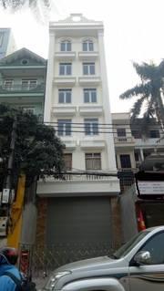 Bán nhà mp Nguyễn Chánh, 60m7tầng, thang máy 18.5 tỷ phố siêu kinh doanh