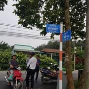 Đất mặt tiền Bùi Thị Điệt chính chủ, SHR, đối diện với vườn rau của VinGroup