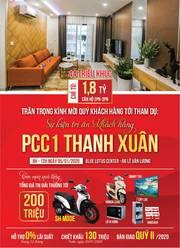 Căn 2PN, 2WC giá chỉ từ 1,7 tỷ, HTLS 12 tháng sắp bàn giao tại Thanh Xuân