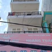 Nhà 1 trệt lửng 6 lầu đường huỳnh tấn phát phường phú thuận Q7. 20,5ty