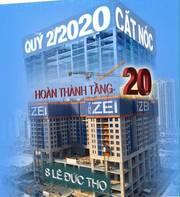 Thành phố thẳng đứng The Zei - Đã hoàn thiện thi công sàn tầng 20