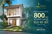 Shop villa biển sổ hồng lâu dài cung đường Resort Hồ Tràm - Bình châu - chỉ từ 8,1 tỷ