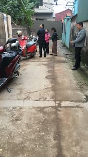 Xả Hàng Trước Tết Bán Gấp Lô Đất dt :185m2 có nhà 4 tầng tại Xóm Đầm Vân Nội gặp A Vân