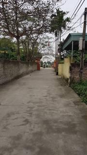 Bán lô đất diện tích vừa đẹp tại Kiến Phong , Đồng Thái , An Dương  81m2 405tr liên hệ em Quang