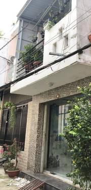 Bán nhà ở Tân Hòa Đông, P13, Q6. DT:3,95x14m  56m2  / HXH 4m. Giá 5,5 tỷ TL