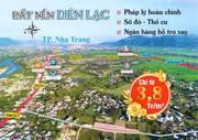 Đất ven Nha Trang giá 3,8 triêu/m2