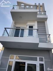 Bán nhà 1 trệt 2 lầu mặt tiền Khu Đô Thị Five Star Đinh Đức Thiện - SHR 100m2