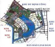 Bán suất ngoại giao khu ĐTM Đại Kim - Định Công mở rộng
