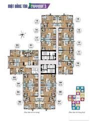 Căn hộ 02 PN, 78m2 toà S3 Nguyên Bản CĐT chung cư Goldmark City