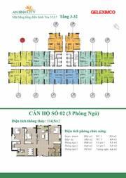 Cần bán căn hộ 02, toà A7 DT 112m2 Vỉew hồ An Bình đẹp bậc nhất 3.5 tỷ