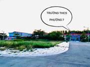 Bán đất mặt tiền lộ 18m, Cặp cổng trường Phường 7, cách bệnh viện Tỉnh Cà Mau 500m