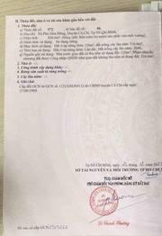 Đất bán Củ Chi, Nguyễn Thị Nị, diện tích 37 x 77m, giá 9 tỷ 900tr.