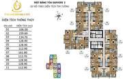 Căn hộ 3PN ,121m2 giá chỉ từ 3 tỷ tại Tòa S2 Goldmark City trung tâm Mỹ Đình