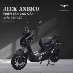 Xe máy điện Jeek  của anbico .kiểu dáng mạnh mẽ.