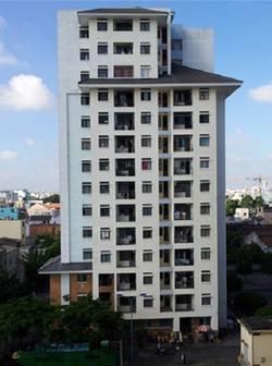 Cho thuê căn hộ 312 Lạc Long Quân, Quận 11, DT : 70 m2, 2PN, Giá 7.5 tr/th
