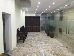 Cho thuê sàn văn phòng hoặc cửa hàng mặt phố Trương Hán Siêu - Trần Quốc Toản