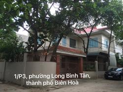 Cho thuê nhà nguyên căn 1 trệt, 2 lầu 1/P3 phường Long Bình Tân, thành phố Biên Hoà