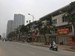 Liền kề Văn Phú mặt đường 42m cho thuê: 100m2 x 3,5 tầng, hoàn thiện đẹp, làm văn phòng giá 13 tr