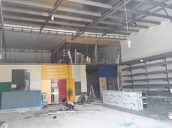 Cho thuê kho xưởng 300m Quận 7 mt đường số gần Nguyễn Thị Thập đẹp giá rẻ 25tr.