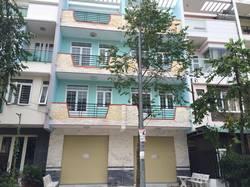Nhà cho thuê 3 lầu rộng mới xây KDC Long Thịnh tiện Văn Phòng Miễn Trung Gian