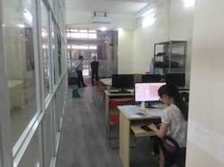 Nhà cho thuê làm văn phòng, Q.TB. DT: 35m2 trệt, Giá 8.5 triệu/tháng.