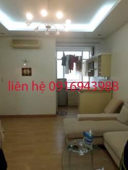 Cho thuê căn hộ chung cư hai  bà trưng 70m2, 2 phòng ngủ giá 11tr/th