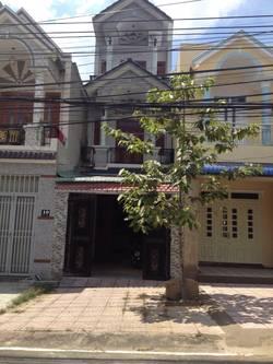 Cho thuê nhà nguyên căn mặt tiền đường Trần Đại Nghĩa, nhà 1 trệt 2 lầu, quốc lộ 1K vào 25m