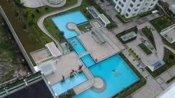 Cho thuê căn hộ cao cấp Chánh Hưng Giai Việt Q.8 lầu cao view hồ bơi dt 150m2 3pn 2wc,có rèm cửa