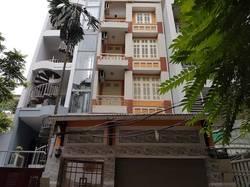 Cho thuê tòa nhà 100m2x5t 12p kk khu Đầm Trấu có thang máy